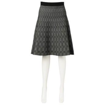 TRANS WORK / トランスワーク パターンコンビニットスカート
