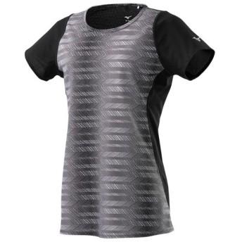 MIZUNO SHOP [ミズノ公式オンラインショップ] ドライエアロフローTシャツ[レディース] 09 ブラック J2MA9211