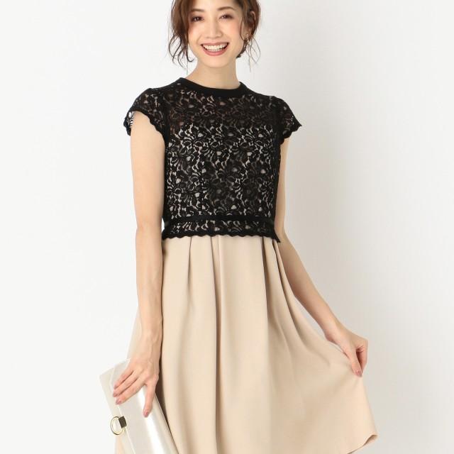21f77c8c68551  オンワード  any SiS L(エニィスィス 大きいサイズ) レディレースコンビ ドレス
