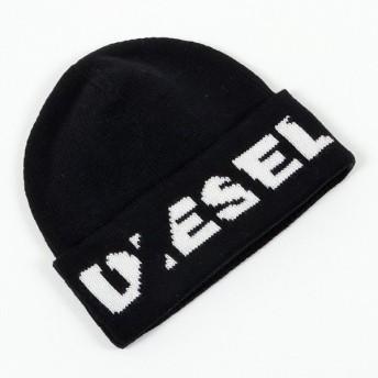 DIESEL ディーゼル SPQP DAOB コットン×ニット ニット帽 ニットキャップ 帽子 900 メンズ