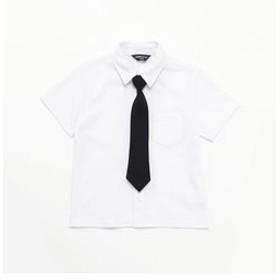 【COMME CA ISM:トップス】ネクタイ付き 半袖シャツ (100cm~130cm)