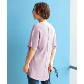 Ray BEAMS / ワッフル ビッグ Tシャツ レディース Tシャツ LAVENDER ONE SIZE