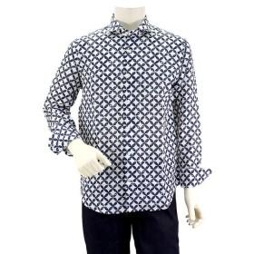クリアランス ガリポリカミチェリア GALLIPOLI camiceria モノグラムプリントシャツ 190663