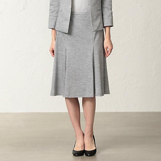 【SALE(伊勢丹)】<TRANSWORK/トランスワーク> 【美Skirt】【セットアップ対応】ラミーカノコスカート(U1S11141__) グレー 【三越・伊勢丹/公式】