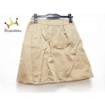 ドレステリア DRESSTERIOR スカート サイズ36 S レディース 美品 ベージュ スペシャル特価 20190803
