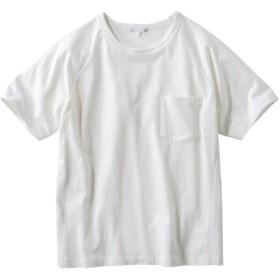 [立体設計]お腹ゆったり。スッキリ見え半袖Tシャツ Tシャツ・カットソー