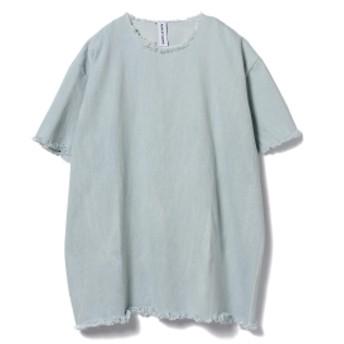 ASHLEY ROWE / ウォッシュデニム ショートドレス◎ メンズ Tシャツ LIGHT DENIM ONE SIZE