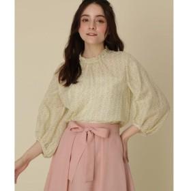 Couture Brooch / クチュールブローチ 【WEB限定販売】【洗える】チューリッププリントブラウス