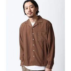 [マルイ] 長袖オープンカラーシャツ/ジップファイブ(ZIP FIVE)