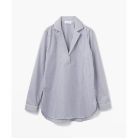 TOMORROWLAND / トゥモローランド MARIE MAROT コットンテーラードネックシャツ