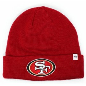 47 Brand f-rkn27ace-rd サンフランシスコ 49ers ビーニー  RED 620008232013 ヘッドウェア