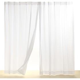 HOME COORDY 遮熱 UV遮蔽 遮像 プライバシー保護 レースカーテン アイボリー 150X176cm 1枚入り HC-TML ホームコーディ 150X176cm 1枚入り
