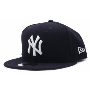 ニューエラ NEW ERA ニューヨークヤンキース 9FIFTY CAP キャップ 帽子 NAVY ネイビー 紺 メンズ 999005900017 ヘッドウェア