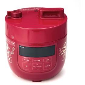 調理家電  ディズニー ほったらかしでもプロの仕上がり 電気圧力鍋 レッド