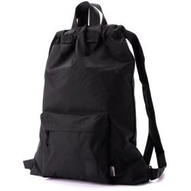 ブラウンバッファロー The Brown Buffalo Hobo Backpack Black