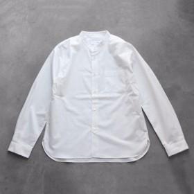 バンドカラーコットンシャツ[ユニセックスsize2]