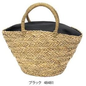 kago bag(かごバッグ) シーグラス かごバッグ テーパー型 ブラック L 48481