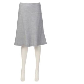TRANS WORK / トランスワーク ブライトツイードジャージースカート