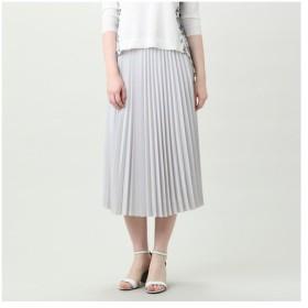 TRANS WORK / トランスワーク 【ウォッシャブル】ストレッチデシンプリーツスカート