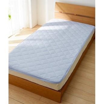 吸汗速乾タオル地敷パッド 敷きパッド・ベッドパッド