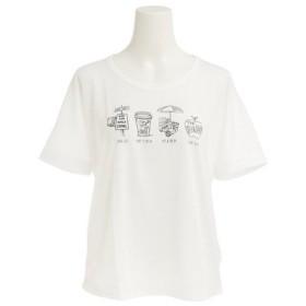 エックスタイル(Xtyle) プリント Tシャツ 872C7CD5318 WHT (Lady's)