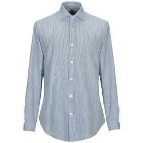 《期間限定セール開催中!》GIANNETTO メンズ シャツ ブルー XXL コットン 100%