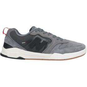 《期間限定 セール開催中》NEW BALANCE メンズ スニーカー&テニスシューズ(ローカット) グレー 8 革 / 紡績繊維