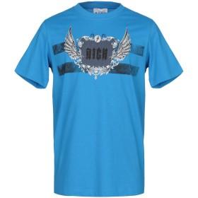 《期間限定 セール開催中》JOHN RICHMOND メンズ T シャツ アジュールブルー S コットン 100%