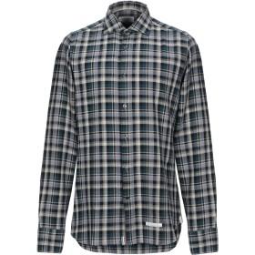 《期間限定セール開催中!》TINTORIA MATTEI 954 メンズ シャツ ディープジェード 40 コットン 100%
