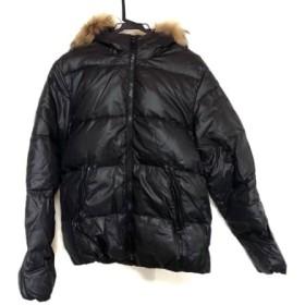 【中古】 デュベティカ DUVETICA ダウンジャケット サイズ46 S メンズ Vega 黒 冬物