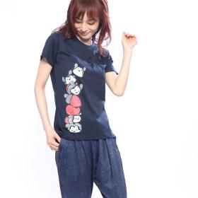Disney ディズニー 半袖Tシャツ レディース