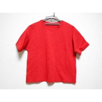 【中古】 ユナイテッド トウキョウ UNITED TOKYO 半袖Tシャツ サイズ1 S レディース 美品 レッド