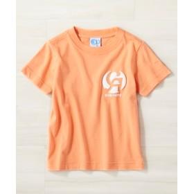 OCEAN PACIFIC ロゴプリントTシャツ キッズ オレンジ