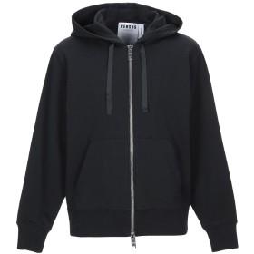 《9/20まで! 限定セール開催中》VERSUS VERSACE メンズ スウェットシャツ ブラック L コットン 95% / ポリウレタン 5%