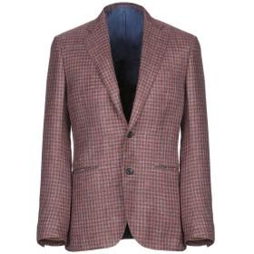 《期間限定セール開催中!》SARTORIO メンズ テーラードジャケット 赤茶色 48 バージンウール 71% / シルク 16% / 麻 13%