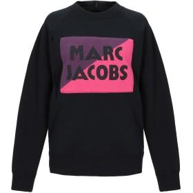 《セール開催中》MARC JACOBS レディース スウェットシャツ ブラック XS コットン 82% / ポリエステル 18%