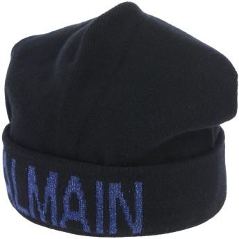 《期間限定セール開催中!》BALMAIN レディース 帽子 ブラック S ウール 64% / カシミヤ 35% / ポリエステル 1%