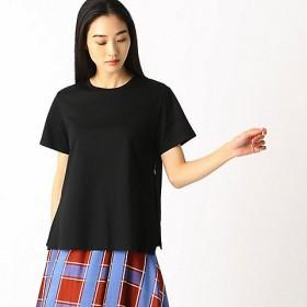 <COMME CA/コムサ> サイドプリーツTシャツ(0101EL07) 09 【三越・伊勢丹/公式】