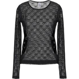《期間限定セール開催中!》MOSCHINO レディース アンダーTシャツ ブラック XS ナイロン 87% / ポリウレタン 13%