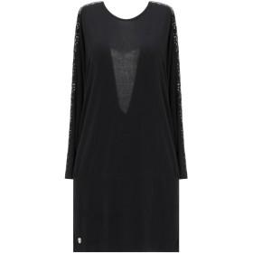 《期間限定セール開催中!》PHILIPP PLEIN レディース ミニワンピース&ドレス ブラック S ポリエステル 100%