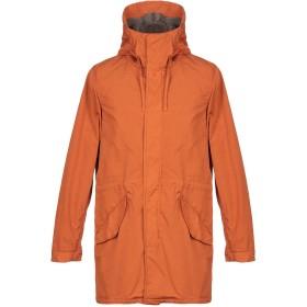 《セール開催中》ASPESI メンズ コート オレンジ L ナイロン 100%