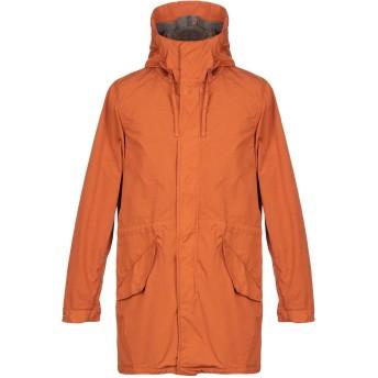 《セール開催中》ASPESI メンズ コート オレンジ XL ナイロン 100%