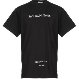 《期間限定セール開催中!》IH NOM UH NIT メンズ T シャツ ブラック S コットン 100% / ポリウレタン