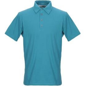 《期間限定セール開催中!》DEPARTMENT 5 メンズ ポロシャツ アジュールブルー S コットン 100%