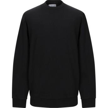 《期間限定セール開催中!》GALLE Paris メンズ スウェットシャツ ブラック XL コットン 100%