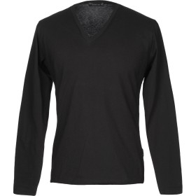 《期間限定セール開催中!》MASTER COAT メンズ T シャツ ブラック M コットン 47% / レーヨン 47% / ポリウレタン 6%