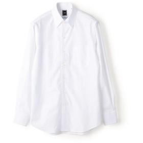 [マルイ] SD:【MONTI社製生地】カラミ イタリアンボタンダウン シャツ(ホワイト)/シップス(メンズ)(SHIPS)