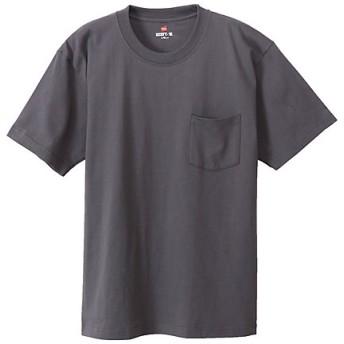<BEEFY> 半袖ポケットTシャツ(H5190) 081グレー【三越・伊勢丹/公式】