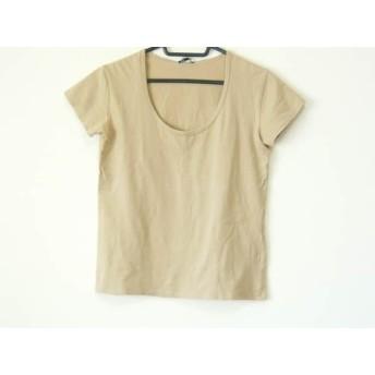 【中古】 セオリー theory 半袖Tシャツ サイズ2 S レディース ベージュ