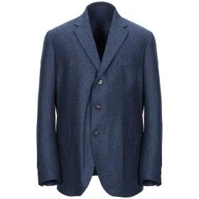 《期間限定セール開催中!》CANTARELLI メンズ テーラードジャケット ブルー 56 バージンウール 80% / シルク 16% / カシミヤ 4%